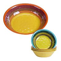 Certified International Sedona 5 pc Salad Serving Set