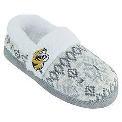 Women's Missouri Tigers Snowflake Slippers