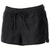 Juniors' SO® Drawstring Soft Shorts