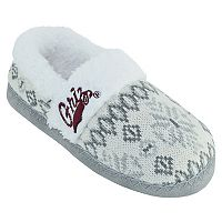 Women's Montana Grizzlies Snowflake Slippers