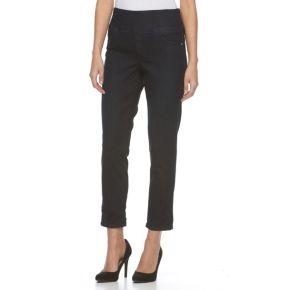 Women's Dana Buchman Cuffed Roll-Hem Jeans