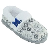 Women's Memphis Tigers Snowflake Slippers