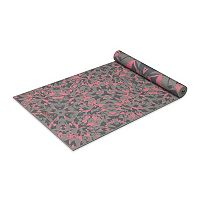 Gaiam 6mm Guava Mirage Reversible Yoga Mat
