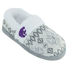 Women's Kansas State Wildcats Snowflake Slippers