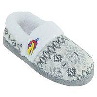 Women's Kansas Jayhawks Snowflake Slippers