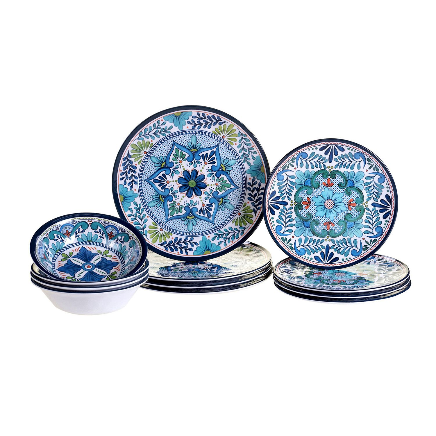 Certified International Talavera 12-pc. Dinnerware Set  sc 1 st  Kohlu0027s & Certified International | Kohlu0027s