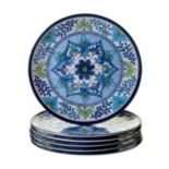 Certified International Talavera 6 pc Dinner Plate Set