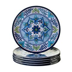 Certified International Talavera 6-pc. Dinner Plate Set