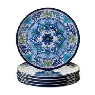 Certified International Talavera 6-pc. Dinner Plate Set