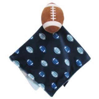 Carter's Football Plush Security Blanket