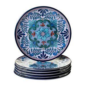 Certified International Talavera 6-pc. Salad Plate Set