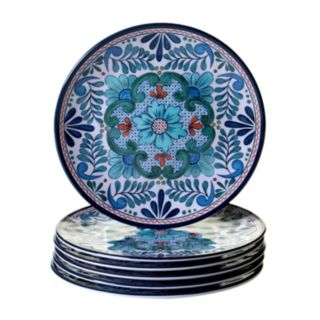 Certified International Talavera 6-pc. Salad Plate Set