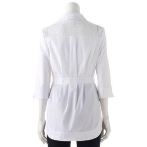 Women's Dana Buchman Tie Waist Shirt