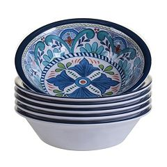 Certified International Talavera 6 pc All-Purpose Bowl Set