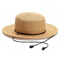 SONOMA Goods for Life™ Straw Boater Hat