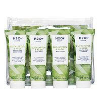 H20+ Beauty Eucalyptus & Aloe Travel Set