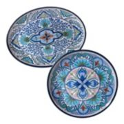 Certified International Talavera 2-pc. Platter Set