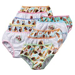 Disney's Moana Girls 4-8 10-pk. Briefs