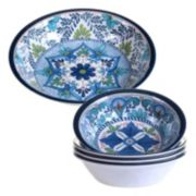 Certified International Talavera 5-pc. Salad Serving Set