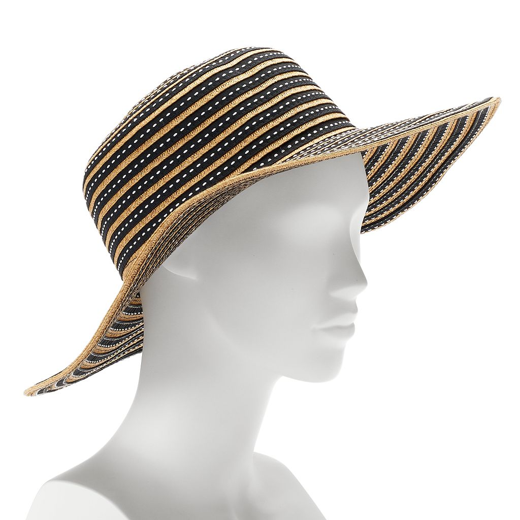 SONOMA Goods for Life™ Striped Straw Floppy Hat