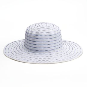 SONOMA Goods for Life™ Striped Straw Floppy Hat