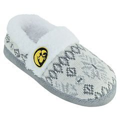 Women's Iowa Hawkeyes Snowflake Slippers