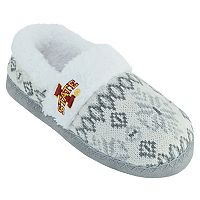 Women's Iowa State Cyclones Snowflake Slippers