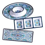 Certified International Talavera 3 pc Hostess Set