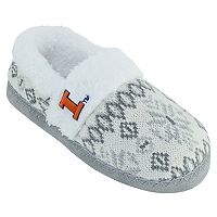 Women's Illinois Fighting Illini Snowflake Slippers