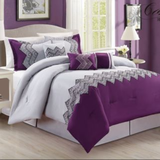 Fashion Street 7-piece Emparial 800 Thread Count Comforter Set