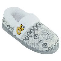 Women's Georgia Tech Yellow Jackets Snowflake Slippers