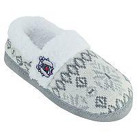Women's Fresno State Bulldogs Snowflake Slippers
