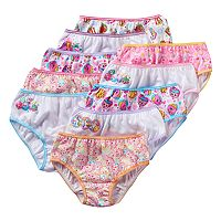 Girls 4-10 10-pk. Shopkins Briefs