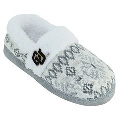 Women's Colorado Buffaloes Snowflake Slippers