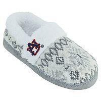 Women's Auburn Tigers Snowflake Slippers