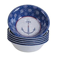 Certified International Nautique 6-pc. All-Purpose Bowl Set