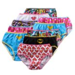 Girls 4-8 10-pk. DC Comics Superman, Batman & Wonder Woman Briefs