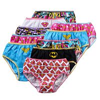 Girls 4-8 10-pk. DC Comics Super Hero Girls Briefs