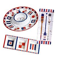 Certified International Nautique 3-pc. Hostess Set