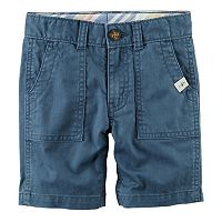 Boys 4-8 Carter's Pork Chop Pocket Woven Shorts