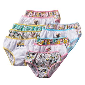 Girls 4-8 Despicable Me 3 10-pk. Briefs