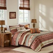 Madison Park 6 pc Davy Quilted Coverlet Set