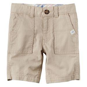 Toddler Boy Carter's Pork Chop Pocket Woven Shorts