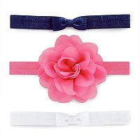 Baby Girl Carter's 3-pk. Floral Head Wrap Set