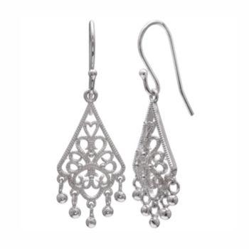 PRIMROSE Sterling Silver Filigree Chandelier Earrings