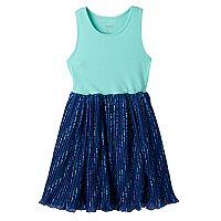 Girls 4-12 SONOMA Goods for Life™ Pattern Pleated Skirt Dress