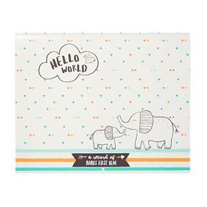 "Carter's ""Hello World"" Baby's First Year Milestone Calendar"