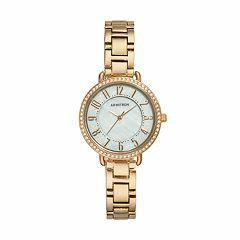 Armitron Women's Crystal Watch - 20/5217BKGPTN