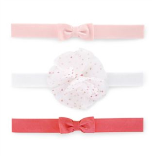 Baby Girl Carter's 3-pk. Bow Head Wrap Set