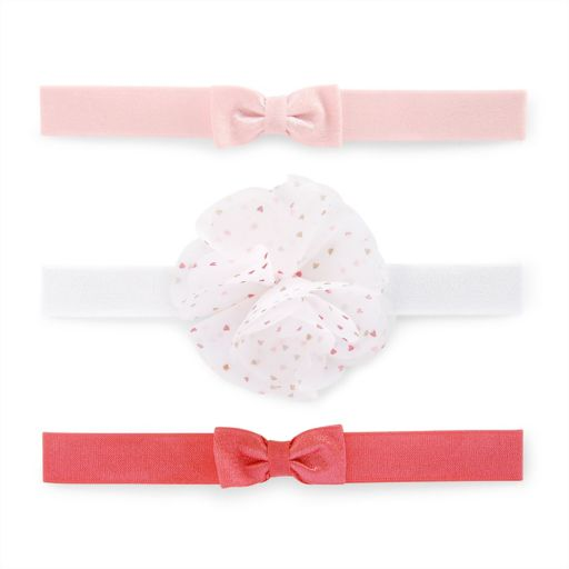 Baby Girl Carter's 3-pk. Bow Head Wrap Set